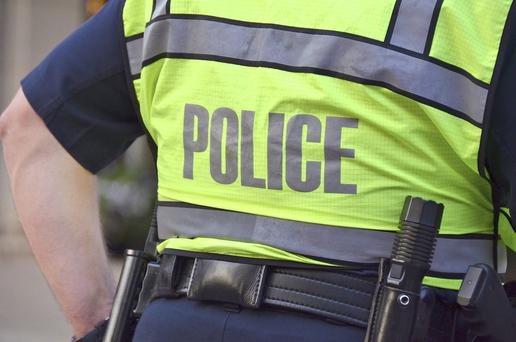 A man is recovering in hospital after four masked men burst into his home in Newtownabbey and attacked him