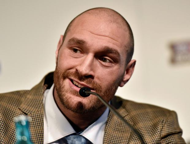 Time to shine: Tyson Fury is ready for his World title bid