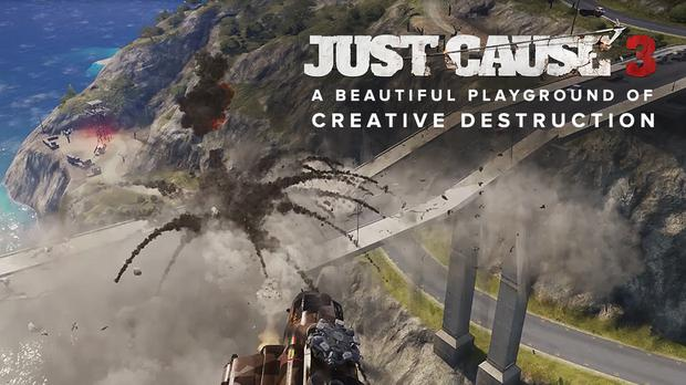 Just Cause 3: Avalanche Studios release hour-long gameplay video