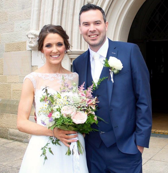 Couple: Rachael and Niall Cunningham