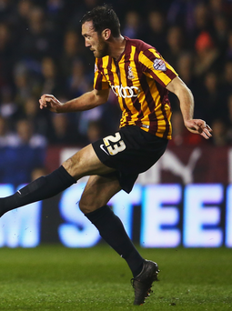 Rory McArdle played a major role for Bradford City on Tuesday