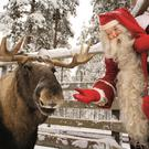 Meet Santa Claus in his Lapland home high above the Arctic Circle