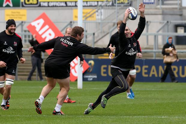 Centurion: Ruan Pienaar will win his 100th cap for Ulster against Leinster at the RDS