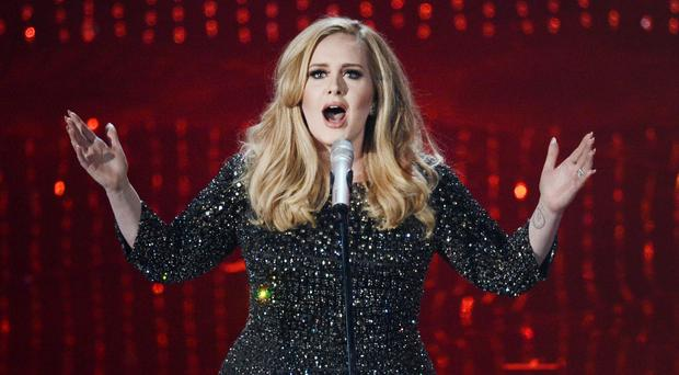 Adele will be in Belfast at the end of February
