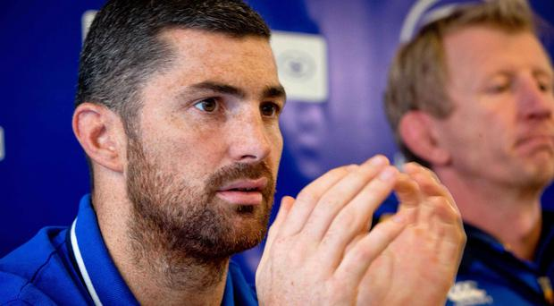 Leinster Rugby Press Conference, RDS, Dublin 26/11/2015 Rob Kearney Mandatory Credit ©INPHO/Morgan Treacy
