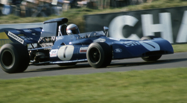 On the right track: Jackie Stewart won 27 Grand Prix and three World titles during a glittering career