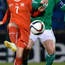 My ball: Rachel Furness in action for Northern Ireland