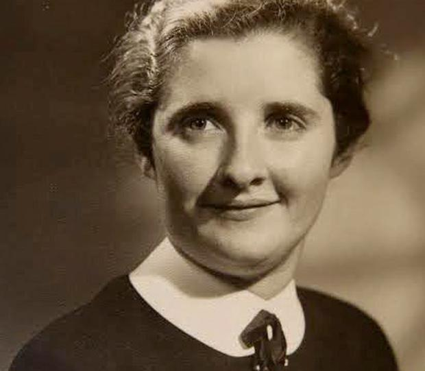 Bridget Crosbie in her late 20s. During the Swinging Sixties she worked in hotels in London and the Channel Islands but a decade later her life took a different outlook