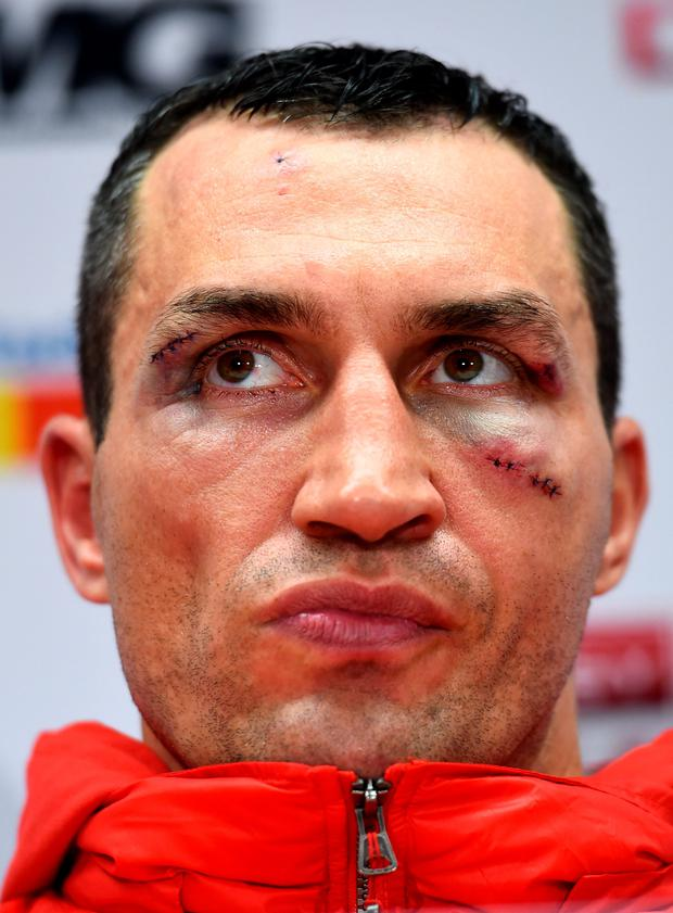 Uncertainty: Klitschko