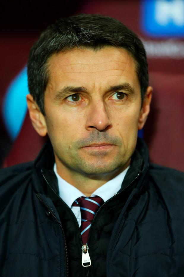 Aston Villa manager Remi Garde will be seeking to strengthen his side's defence