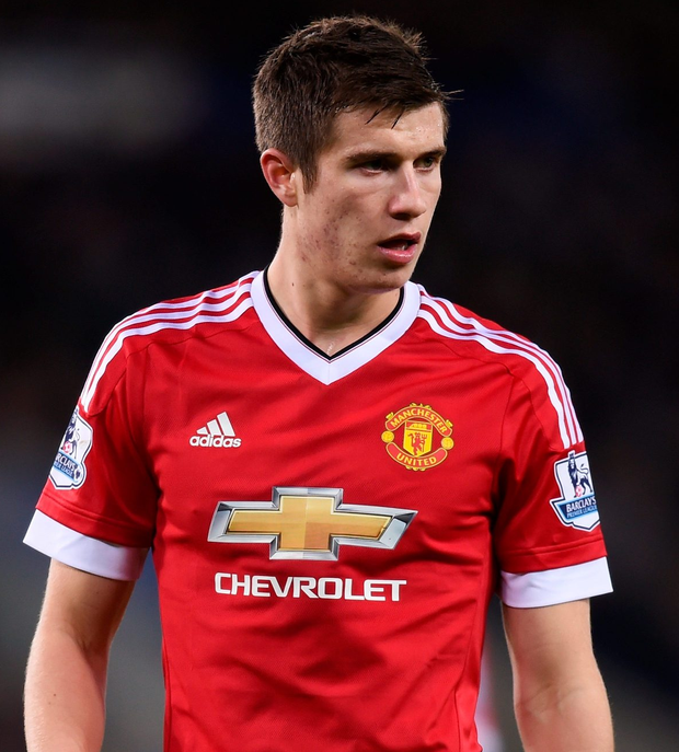 Hit out: Van Gaal's criticism of Paddy McNair was harsh