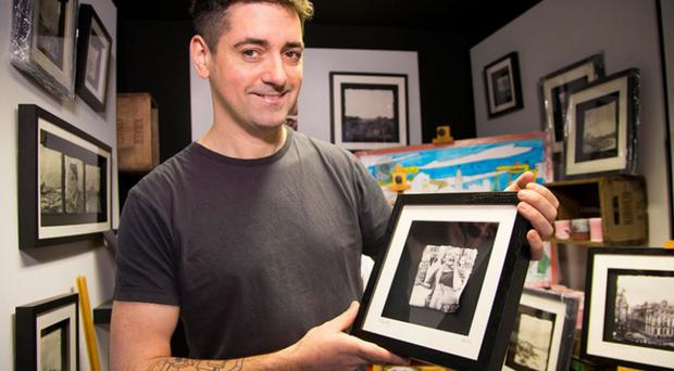Belfast Telegraph Studio featured artist, Stephen Farnan