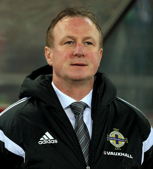French choice: Northern Ireland manager Michael O'Neill