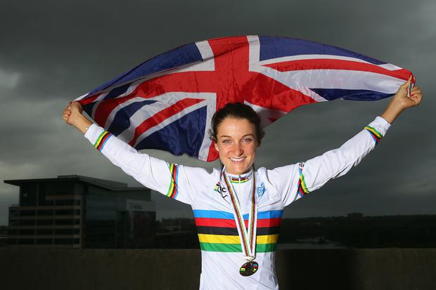 Lizzie Armistead (cycling): Retained World Cup title and won World road race title.