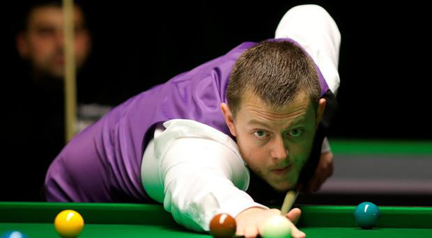 Knocked out: Mark Allen lost to England's Martin Gould