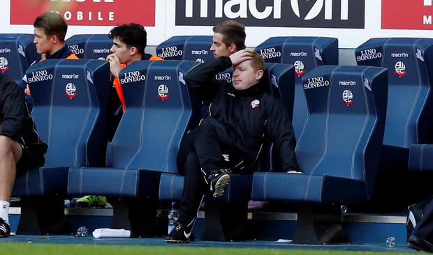 In the hotseat: Neil Lennon is enduring a difficult time in charge of Bolton with a winless run, uncertain finances, unpaid players and the club up for sale