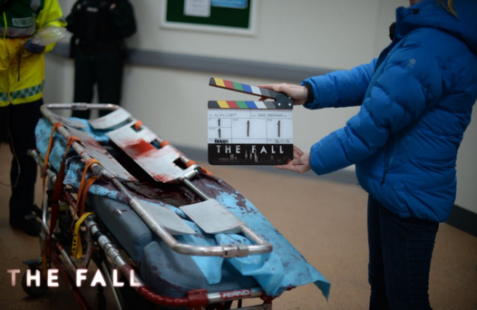The first scene shot from The Fall series 3. Pic. The Fall Official.