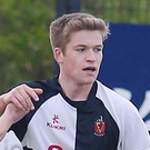 Wallace's Andrew O'Hare scored a consolation goal for Ulster in a 2-1 defeat against Scotland