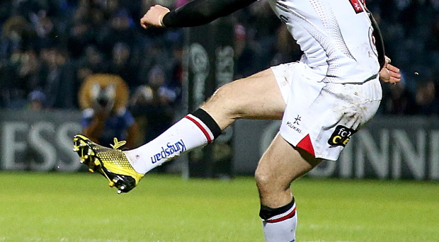 No excuses: Paddy Jackson is determined to help Ulster recover from the Leinster loss and beat Edinburgh tomorrow