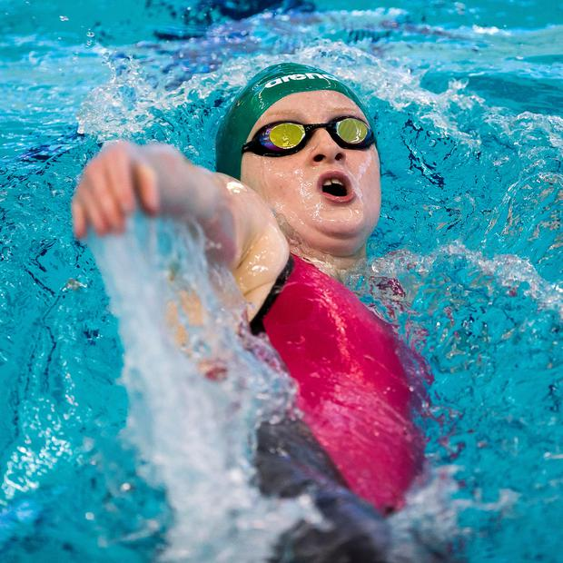 Big splash: Danielle Hill is hoping for a return to form at the Irish short course championships