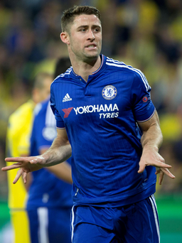 New deal: Gary Cahill