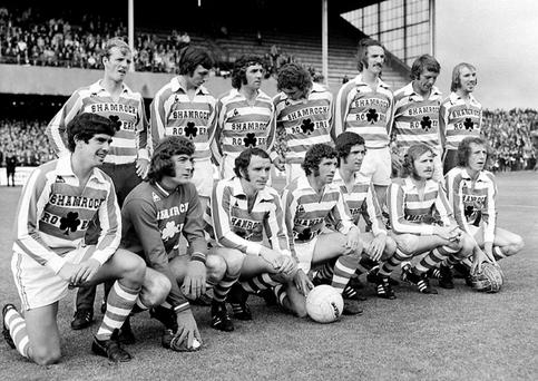 Together as one: the Shamrock Rovers All-Ireland select team that took on Brazil in 1973