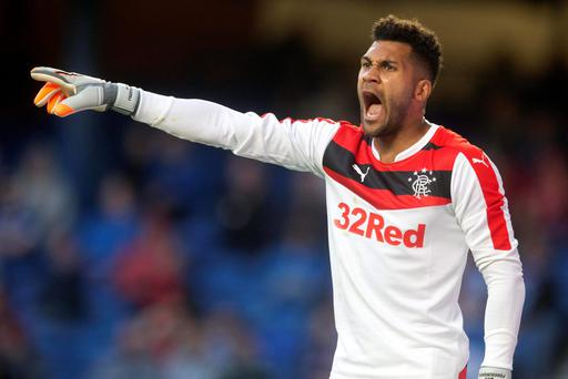 Wes Foderingham is not giving Ladbrokes Championship rivals Hibernian a thought as he prepares to keep Rangers at the top of the table.