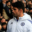 Unhappy: Diego Costa had a run-in with Jose Mourinho