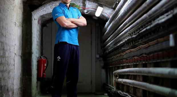 Driven to succeed: Tommy Bowe can't wait to get back on the pitch after his World Cup was ended by injury in the quarter-final against Argentina