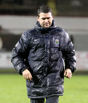 Under fire: David Healy has lost four straight league ties