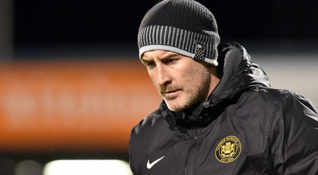 Crucial game: Gary Haveron says Carrick must beat Warrenpoint today