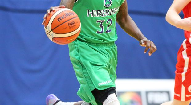 Falling short: Shawn Vanzant top scored for Belfast Star with 11 points