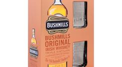 Bushmills gift set, £23. This gorgeous set of Bushmills glasses, with a bottle of the original Irish whiskey, is available to buy from the Old Bushmills Distillery or via mail order. Email mail.order.bushmills@bushmills.com (UK and Ireland only).