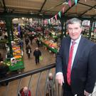 Trevor Annon in St George's Market's, Mount Charles' restaurant over the famous citycentre destination