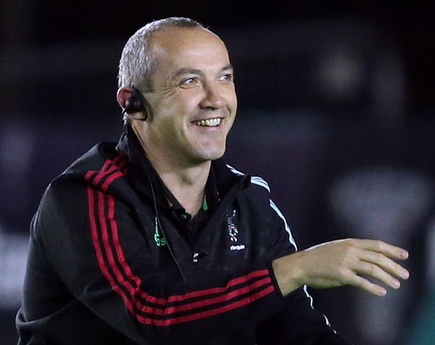 Harlequins' head coach Conor O'Shea