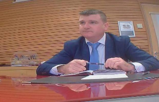 Councillor John ODonnell from Donegal filmed in a meeting with an undercover reporter for the RTÉ Investigates Standards in Public Office programme