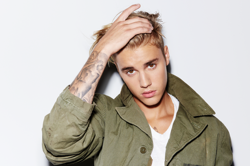 Justin Bieber will be in Dublin on November 1, 2016.