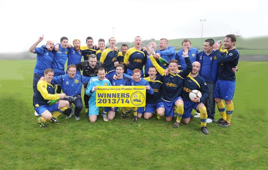 It was little over a year and a half ago that Drumaness Mills won the Premier Division title (pictured). Now recently-appointed manager Mark Kerr is setting his sights on a sustainable future for the Meadowvale-based club.