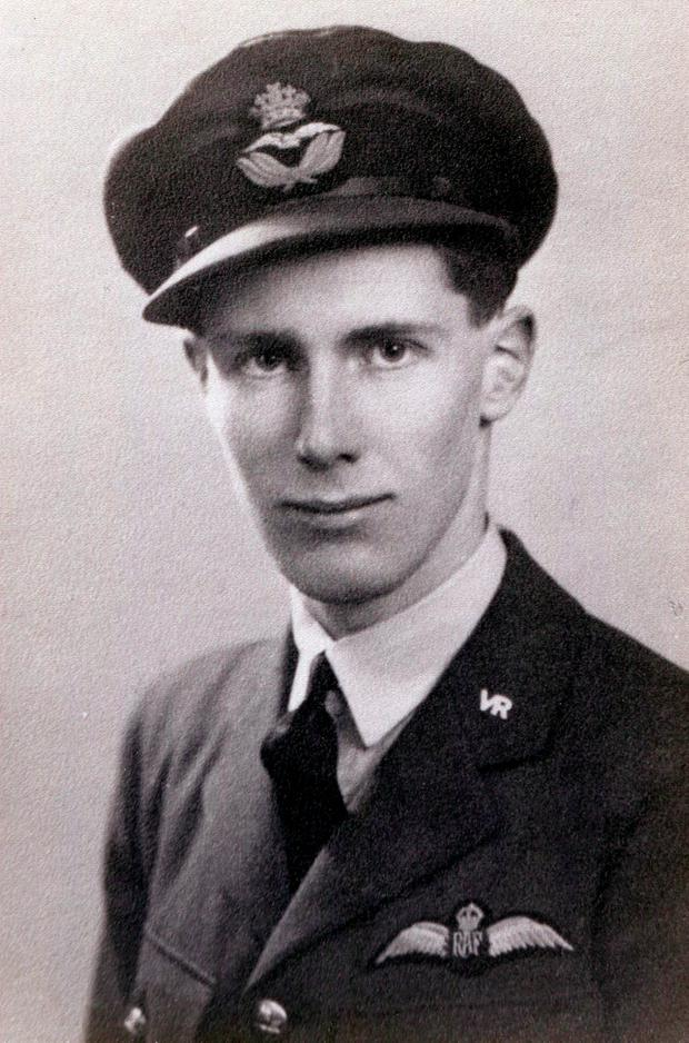 Flight Lieutenant John Vere Hoppy Hopgood, whose Distinguished Flying Cross (DFC) and Bar, awarded to him prior to him taking part in the Dambusters raid in 1943, in which he was killed. Morton & Eden/PA Wire.