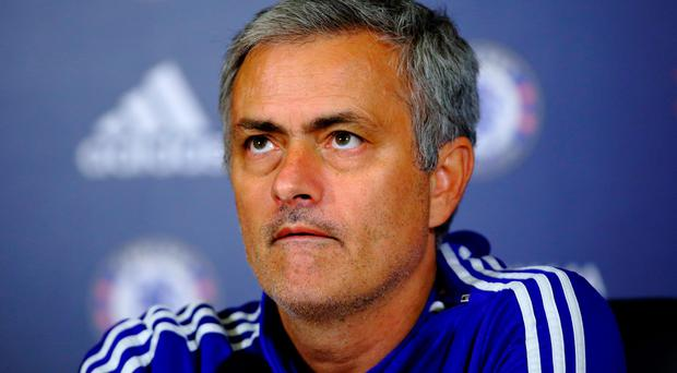 Concerned: Jose Mourinho worried at the lack of English managers in the Premier League