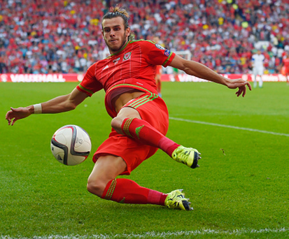 Main attraction: Gareth Bale's displays will go a long way to deciding Wales' fate at the Euro finals
