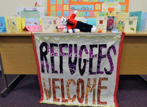 A Belfast Welcome Centre prepares for Refugees to arrive on Tuesday, Families are being forced to flee their homes in fear for their lives from Syria and elsewhere across the Middle East. Photo Colm Lenaghan/Pacemaker Press