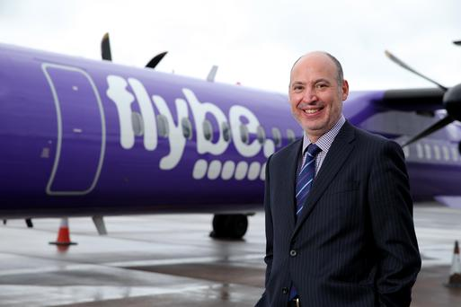 Flybe chief executive Saad Hammad has close links with Northern Ireland through his family and is very excited about the airline's prospects