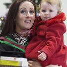 Ulster University copy - Tues 15 Dec 2015 graduations Psychology graduate Deirdre Timlin and her 2 year old daughter Eibhlin. (Photo: Nigel McDowell/Ulster University) Image supplied by Lindsay Beacom Communications & PR Officer www.ulster.ac.uk