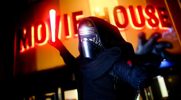Ready for the Dark Side? Fans are looking forward to seeing the new characters like Kylo Ren in Star Wars: The Force Awakens. There has been unprecedented demand for the midnight shows at Movie House and many extra shows have been added to accommodate all the fans.