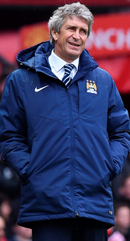 Job on line: Manuel Pellegrini favourite to be replaced by Pep Guardiola next season
