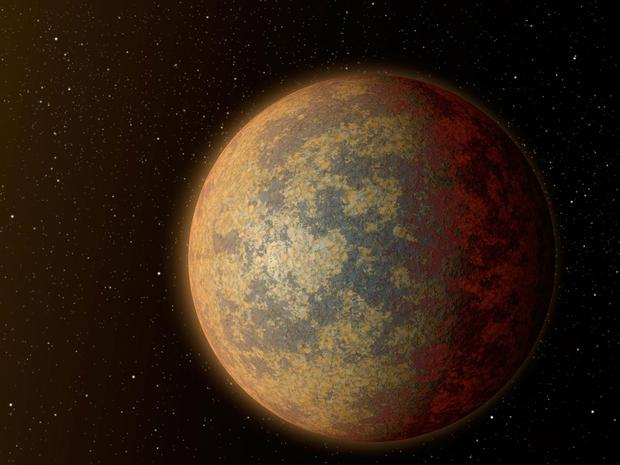 Wolf 1061c: An artist's impression of an exoplanet with the potential to support life NASA/JPL-Caltech
