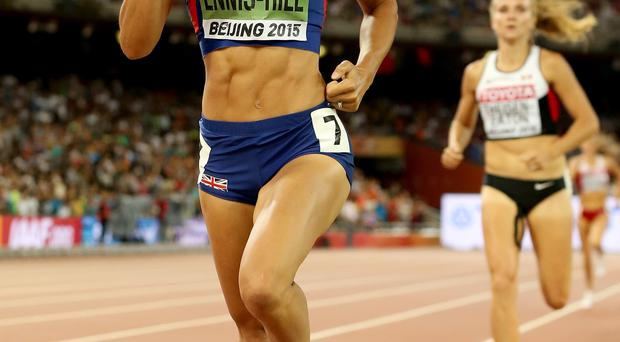 On track: Jessica Ennis-Hill is among the front runners for the BBC Sports Personality of the Year Award in Belfast