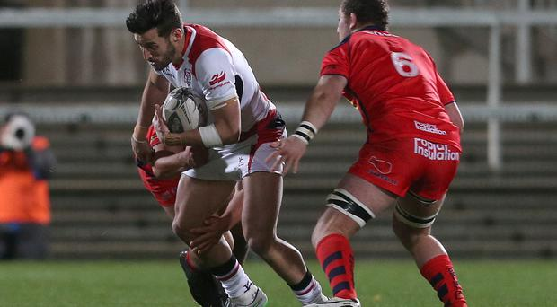 Aiming high: Sam Windsor wants to impress for Ulster 'A' and earn a shot in the senior team during the Six Nations period