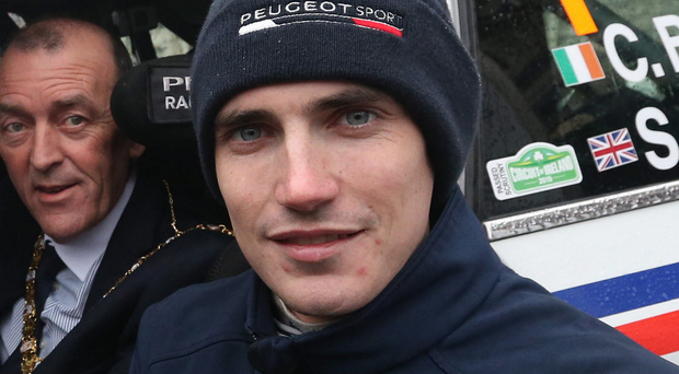 New wheels: Craig Breen will grace World stage at Citroen
